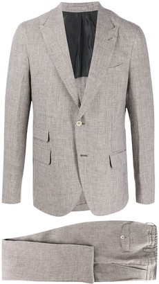 Eleventy Single-Breasted Two-Piece Suit