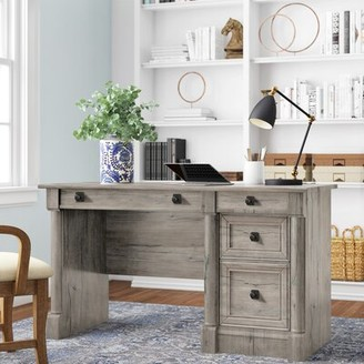Three Posts Walworth Computer Desk Color: Split Oak