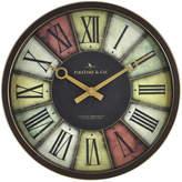 Asstd National Brand FirsTime Prismatic Wall Clock