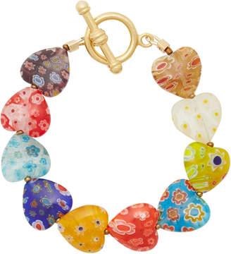 Millefiori Brinker & Eliza Higher Love Heart Bracelet