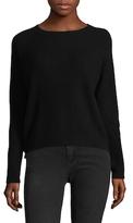 Vince Ribbed Raglan Crewneck Sweater