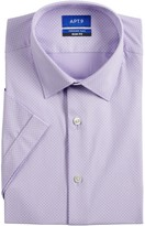 Apt. 9 Men's Slim-Fit Premier Flex Collar Stretch Short-Sleeved Dress Shirt
