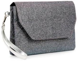 No Boundaries Double Gusset Clutch Detachable Wristlet Wallet