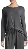 Eileen Fisher Long-Sleeve Long Jersey Top