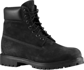 """Timberland 6"""" Premium Waterproof Boots Outdoor Boots - Jet Black"""