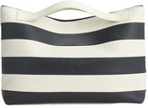 WANT Les Essentiels De La VieTM for J.Crew Stripe medium two-way tote
