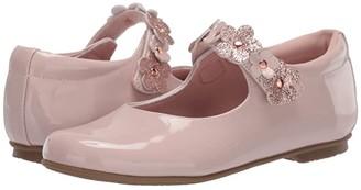 Rachel Leslie (Little Kid) (Pink Mauve Patent) Girl's Shoes