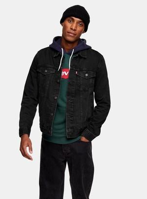 Levi's TopmanTopman Black Trucker Jacket
