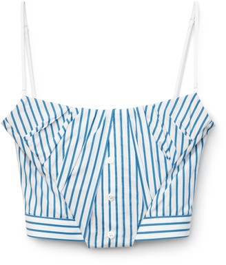 Collection Tucked Bustier Top