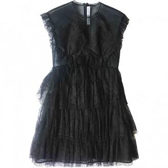 Francesco Scognamiglio Black Lace Dress for Women