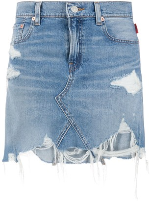Denimist High Rise Denim Skirt