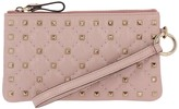Valentino Garavani Rockstud Spike Mini Clutch Bag In Quilted Nappa Leather With Metal Studs