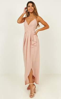 Showpo Gave Me You Dress in blush - 6 (XS) Dresses