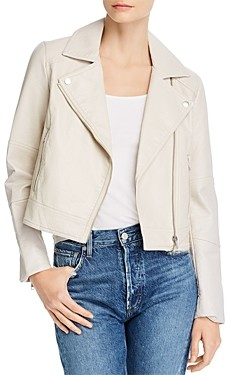 Cupcakes And Cashmere Chandler Pebble Faux-Leather Moto Jacket