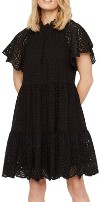 Y.A.S India Broderie Midi Dress