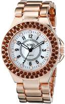 XOXO Women's XO137 Analog Display Analog Quartz Rose Gold Watch
