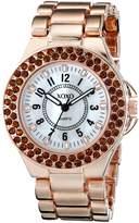 XOXO Women's XO137 Analog Display Analog Quartz Rose Gold Watch