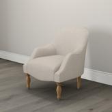 The White Company Belgravia Occasional Linen Union Chair