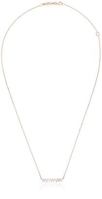 Suzanne Kalan 18kt rose gold Firework diamond necklace