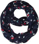 Dorothy Perkins Navy Cherry Floral Snood