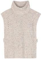 Etoile Isabel Marant Isabel Marant, Étoile Haway wool, cotton and silk-blend top