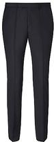 Hugo Boss Hugo Sharp Virgin Wool Regular Fit Suit Trousers