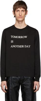 TAKAHIROMIYASHITA TheSoloist. Black Tomorrow Is Another Day Long Sleeve T-Shirt