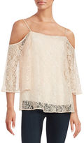 Bailey 44 Lace Off-The-Shoulder Top