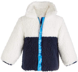 First Impressions Baby Boys Reversible Colorblocked Jacket