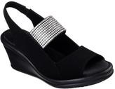 Skechers Women's Rumblers Sparkle On Wedge Sandal