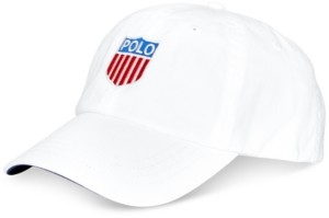Polo Ralph Lauren Men's Polo Shield Twill Chariots Cap