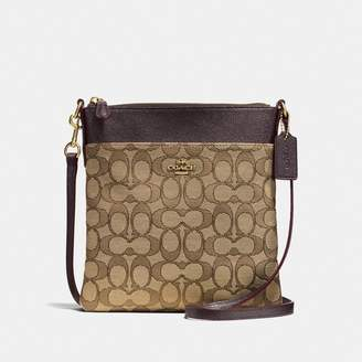 Coach Kitt Messenger Crossbody In Signature Jacquard