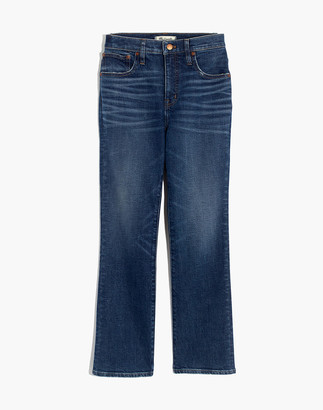 Madewell Petite Slim Demi-Boot Jeans in Sundale Wash