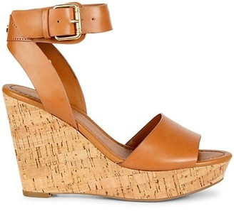Tommy Hilfiger Maya Cork Wedge Heel Sandals