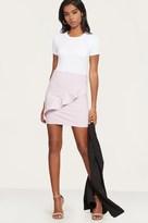 Dynamite Ruffled Mini Skirt