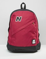 New Balance 574 Backpack In Red