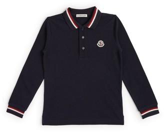 Moncler Kids Logo Polo Shirt (8-10 Years)