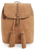 Elle & Jae Gypset Palomina Cutwork Trim Faux Leather Backpack - Brown