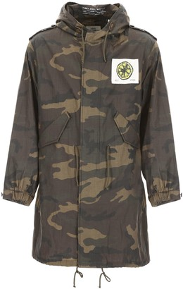 Kent & Curwen The Stone Roses Camouflage Parka