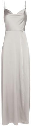 Intermix Taylor Silk Georgette Maxi Dress