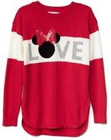 Gap GapKids | Disney Minnie Mouse embellished hi-lo sweater
