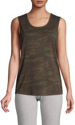 Monrow Camouflage Tank Top