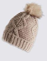 Marks and Spencer Pom Bobble Hat