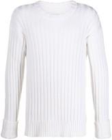 Maison Margiela ribbed knitted jumper