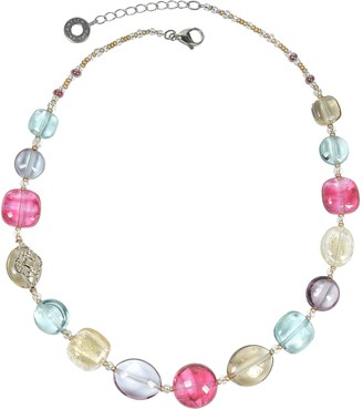 Antica Murrina Veneziana Florinda Transparent Murano Glass Beads Necklace