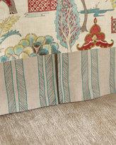 Jane Wilner Designs Bally Striped King Dust Skirt