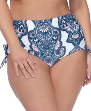 Thumbnail for your product : Raisins Curve Trendy Plus Size Golden Hour North Shore Bikini Bottoms Women's Swimsuit