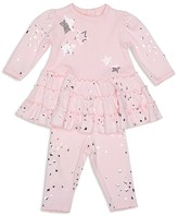 Biscotti Infant Girls' Shiny Stars Top & Leggings Set - Sizes 3-9 Months