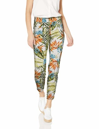 Tribal Women's Pull On Printed Ankle Jegging