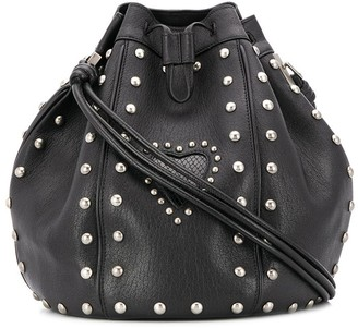Saint Laurent Talitha stud-embellished bucket bag